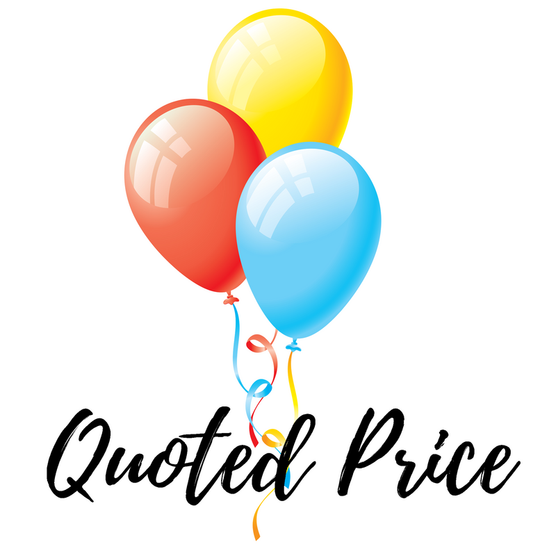 Balloon Quoted Price