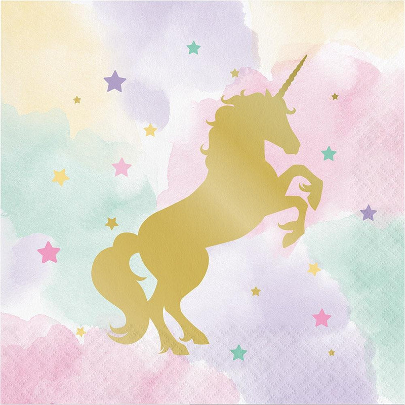 Unicorn Sparkle Napkins - Lunch
