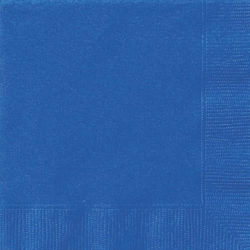 Royal Blue Napkins - Lunch
