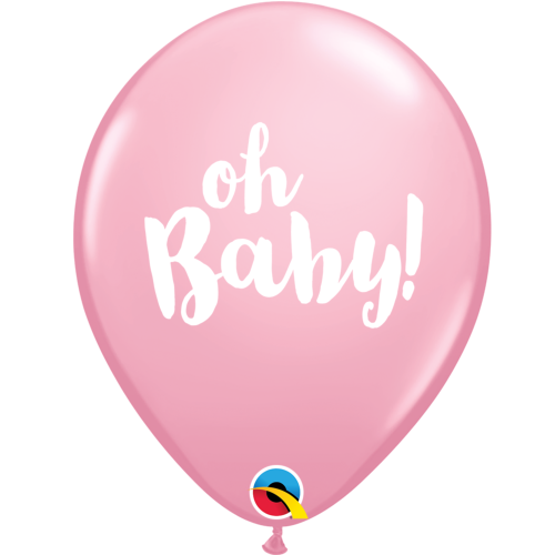 Pink Oh Baby Balloon