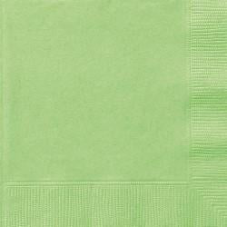 Apple Green Napkins - Lunch