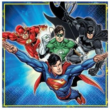 Justice League Napkins - Lunch