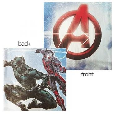 Avengers Epic Napkins - Lunch