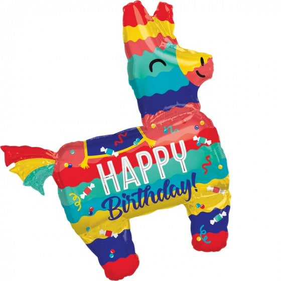 Pinata Party SuperShape Foil Balloon