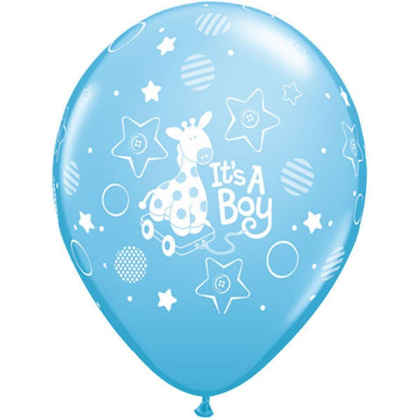 Giraffe It's a Boy Balloon