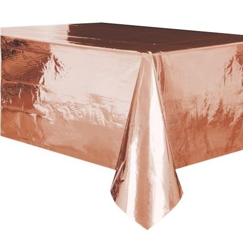 Metallic Rose Gold Tablecloth