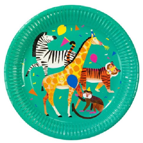 Party Animals Plates - Dinner
