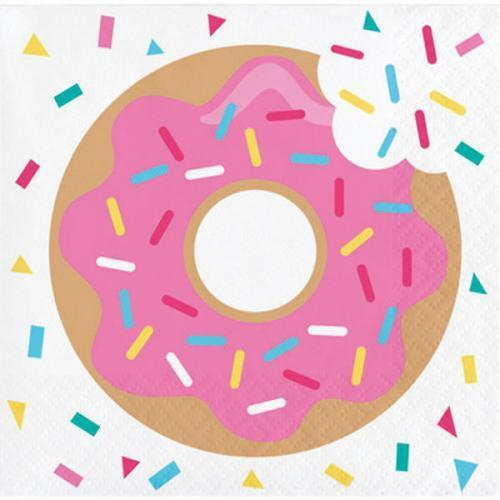 Donut Time Napkins - Beverage