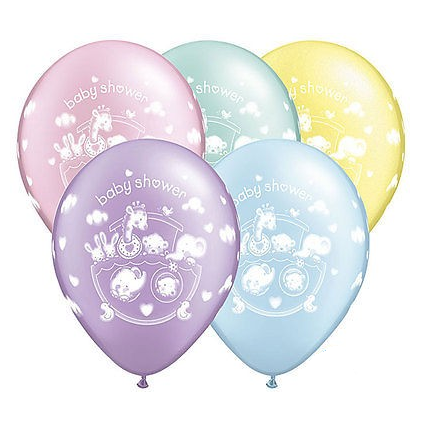 Adorable Ark Baby Shower Balloon