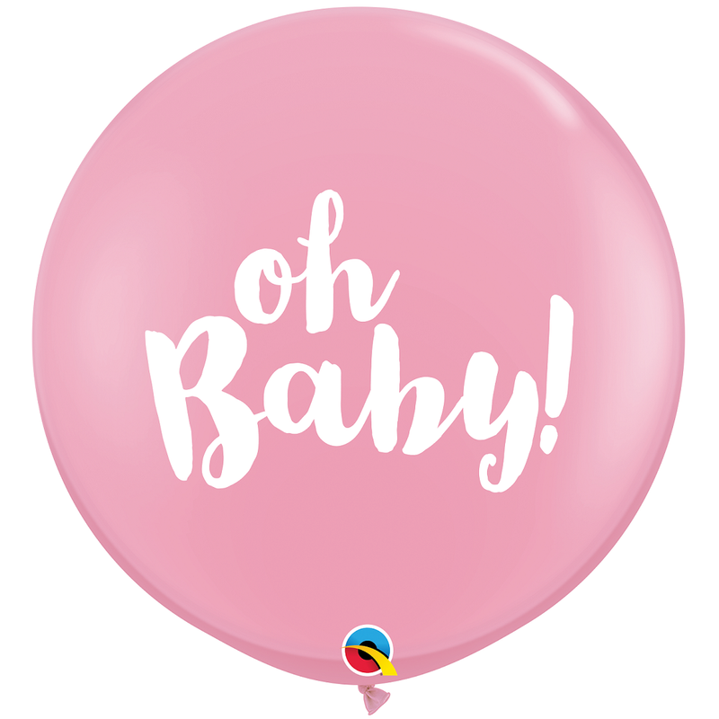 Giant Balloon - Pink Oh Baby