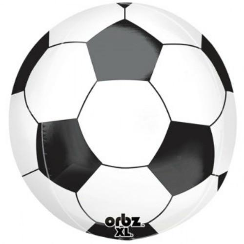Soccer Ball Orbz Foil Balloon