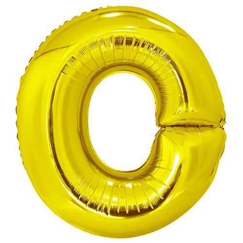 Giant Gold Letter Foil Balloon - O