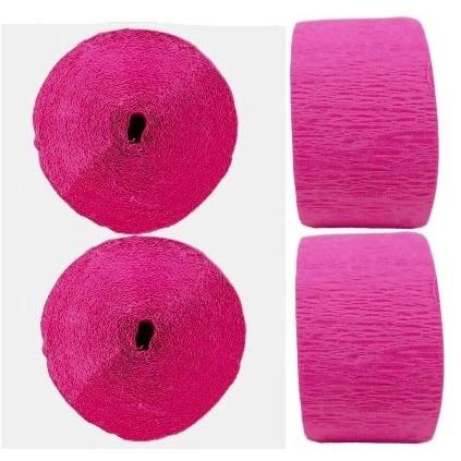Crepe Streamers - Hot Pink