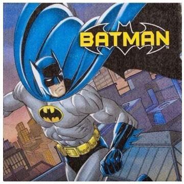 Batman Comic Napkins - Lunch