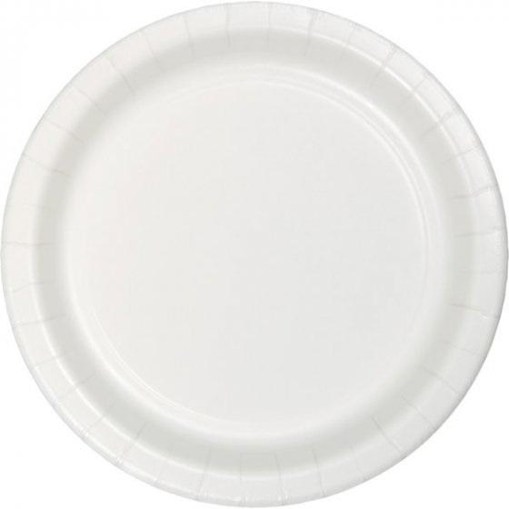White Plates - Lunch