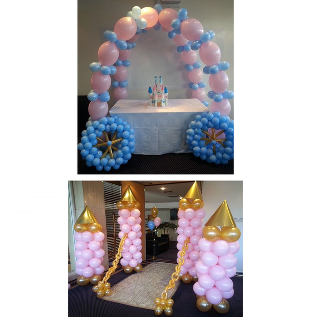 Princess Balloon Decor Package