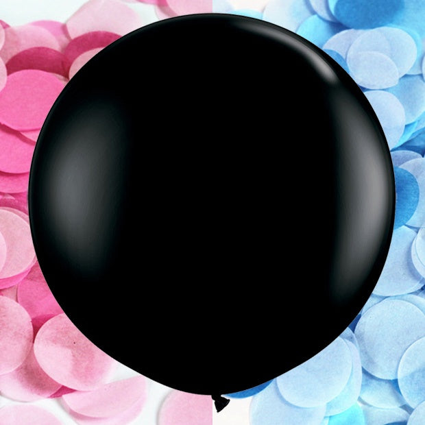 Gender Reveal Confetti Balloon Kit - 60cm