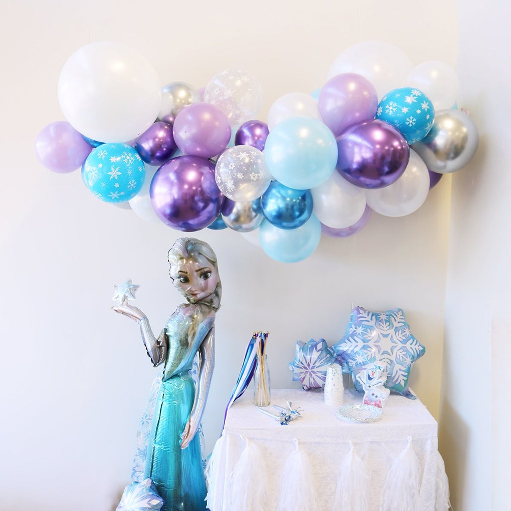 Frozen Balloon Garland | Frozen Party Supplies