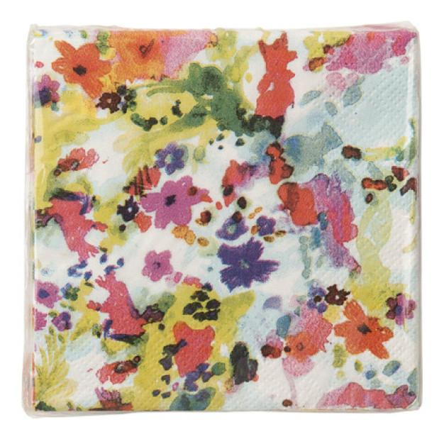Floral Fiesta Canape Napkins