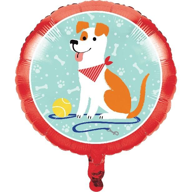 Dog Party Foil Balloon