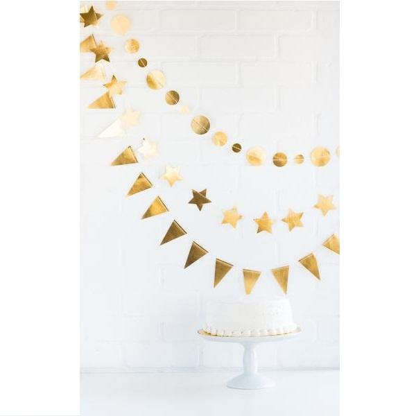 Mini Banner Set - Gold Foil