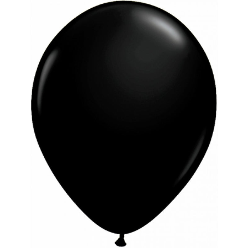 Giant Balloon - Onyx Black Oval 40cm