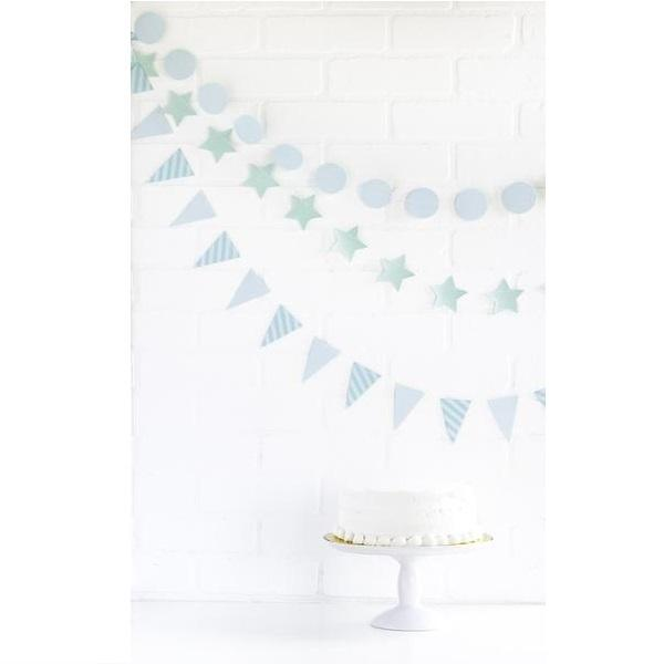 Mini Banner Set - Sky Blue
