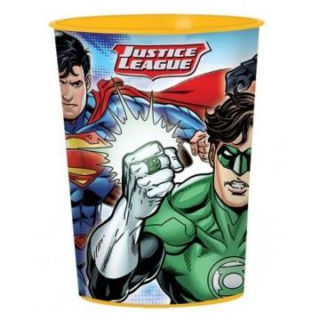 Justice League Plastic Keepsake Cup