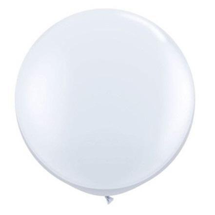 Giant Balloon - Pearl White