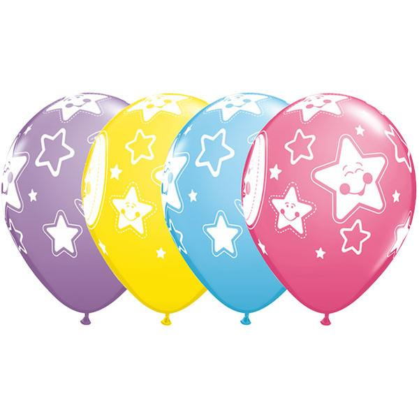 Baby Moon & Stars Balloon