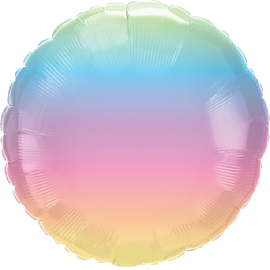 Pastel Ombre Foil Balloon | Qualatex