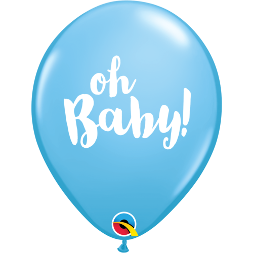 Blue Oh Baby Balloon
