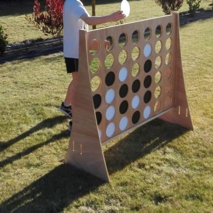 Giant Wooden Connect 4 Hire