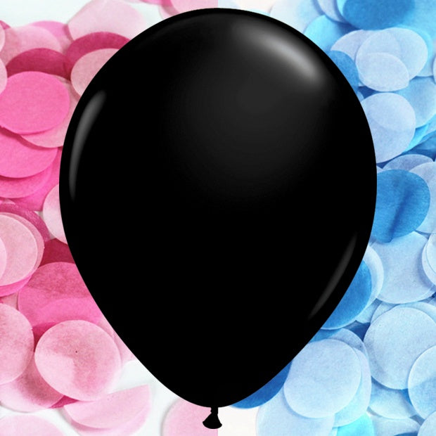 Gender Reveal Confetti Balloon Kit - 28cm