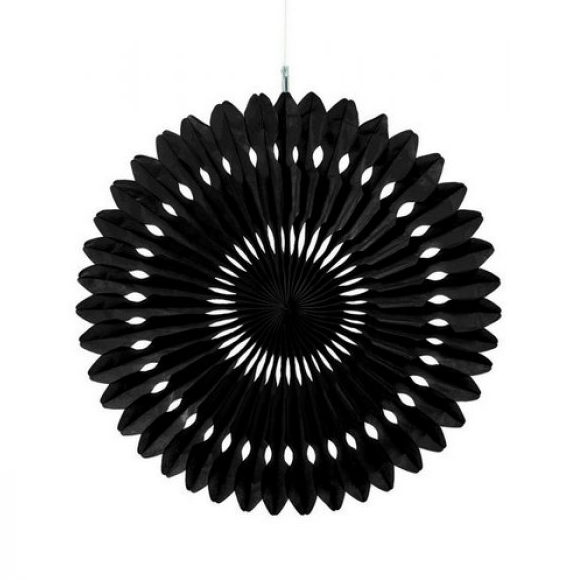 Black Hanging Fan Decorations