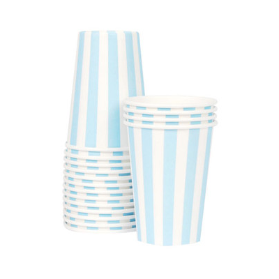 Paper Eskimo Powder Blue Cups