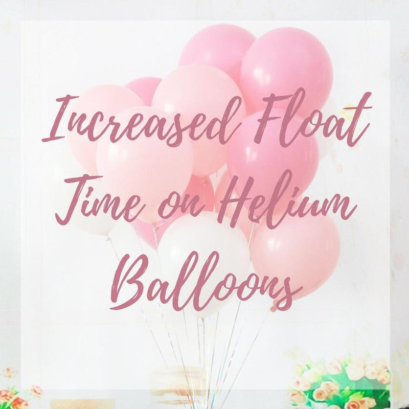 Increased Float Time on 40cm Helium Balloons