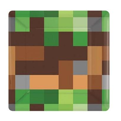 Minecraft TNT Plates - Lunch