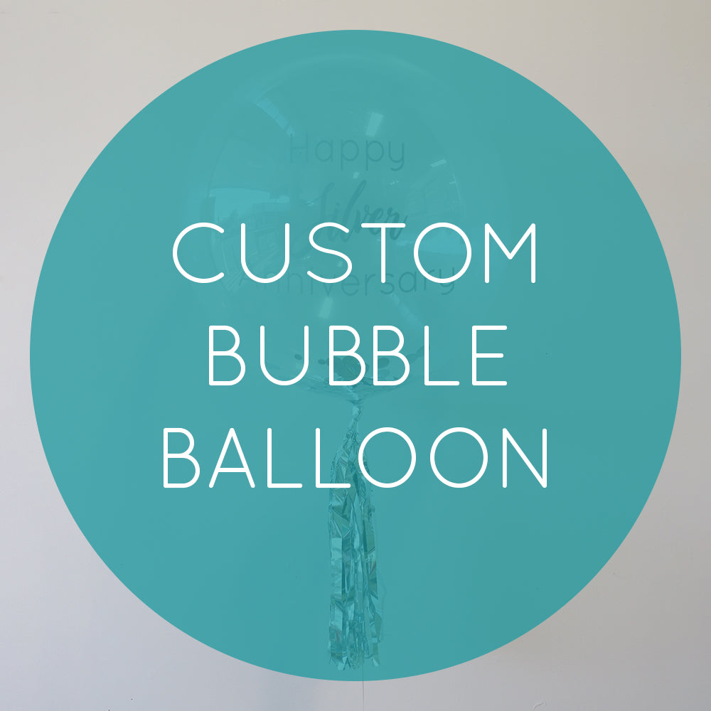 Custom Personalised Bubble Balloon