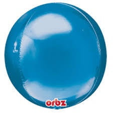Blue Orbz Foil Balloon