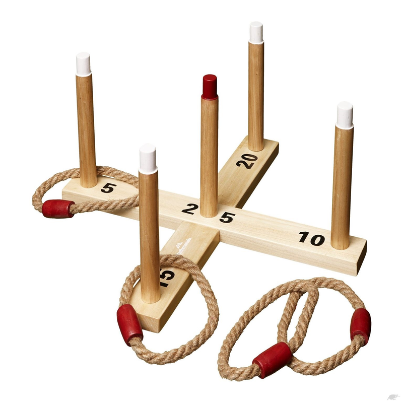 Wooden Quoits Ring Toss Game Hire