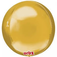 Gold Orbz Foil Balloon