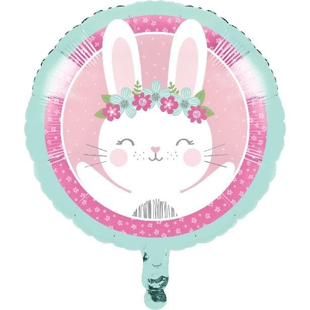 Birthday Bunny Foil Balloon