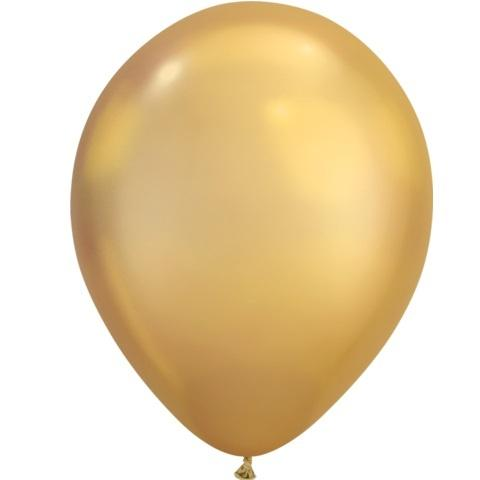 Chrome Balloon - Gold
