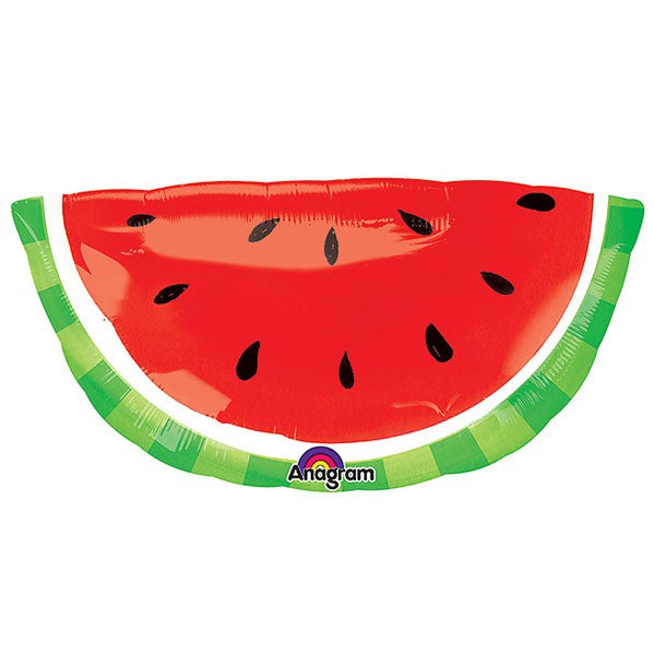 Watermelon SuperShape Foil Balloon