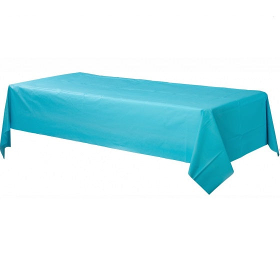 Caribbean Blue Tablecloth