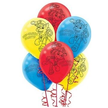Paw Patrol Balloons - Pack of 6