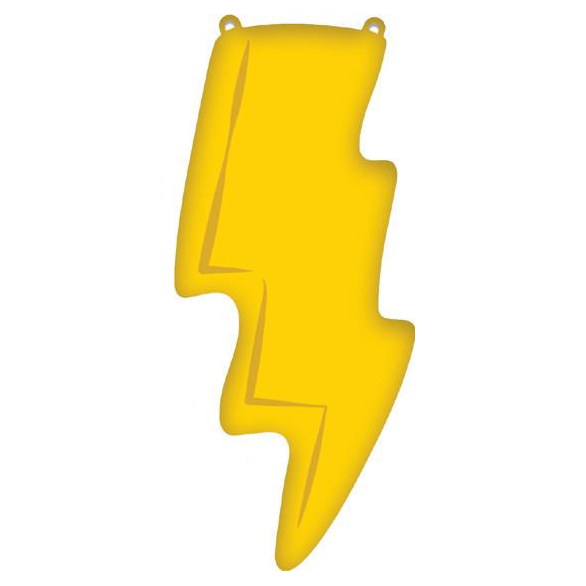 Lightning Bolt Foil Balloon