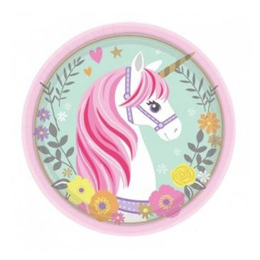 Magical Unicorn Plates - Lunch