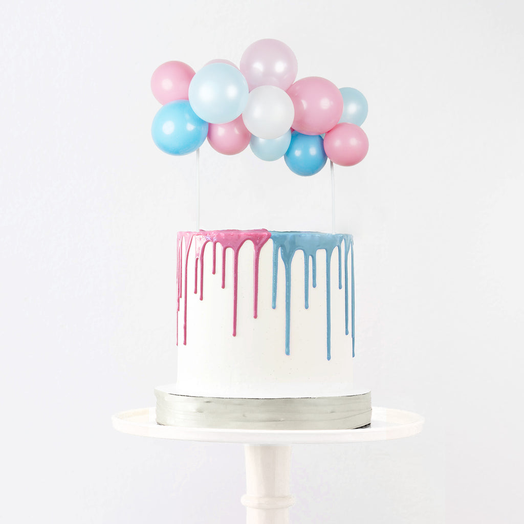 Gender Reveal Balloon Cake Topper | Gender Reveal Balloons NZ